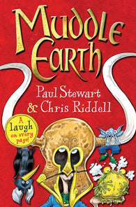 9780330538763 Muddle Earth - Written by Paul Stewart, Signed & Illustrated by Chris Riddell