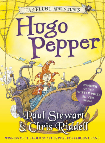 9780440866961 Hugo Pepper - by Paul Stewart, Signed & Illustrated by Chris Riddell