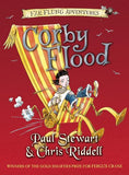 9780440867265 Corby Flood - by Paul Stewart, Signed & Illustrated by Chris Riddell