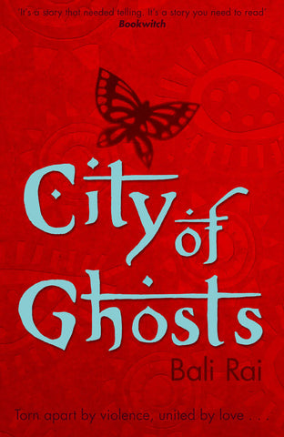 9780552556019 City of Ghosts - Signed Copy, by Bali Rai