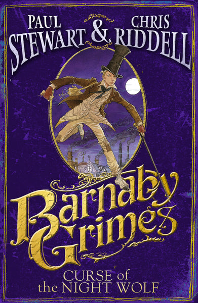9780552556217 Barnaby Grimes: Curse of the Nightwolf - by Paul Stewart, Signed & Illustrated by Chris Riddell