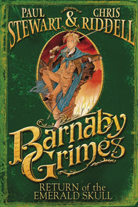 9780552556224 Barnaby Grimes: Return of the Emerald Skull - Double Signed by Paul Stewart & Chris Riddell