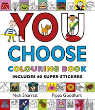 You Choose: Colouring Book with Stickers-9780552564717