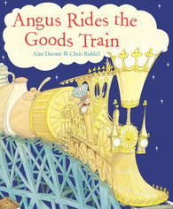 9780552569194 Angus Rides the Goods Train - by Alan Durant, Signed & Illustrated by Chris Riddell