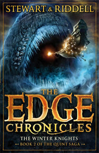 9780552569637 Edge Chronicles 2 The Winter Knights - by Paul Stewart, Signed & Illustrated by Chris Riddell