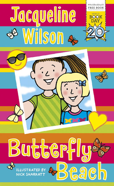 WBD: Butterfly Beach, by Jacqueline Wilson, illustrated by Nick Sharratt 9780552576222
