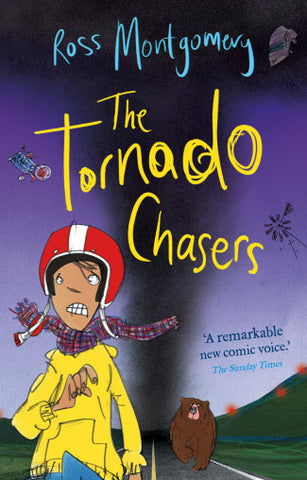 9780571298426 The Tornado Chasers - Signed Copy, by Ross Montgomery