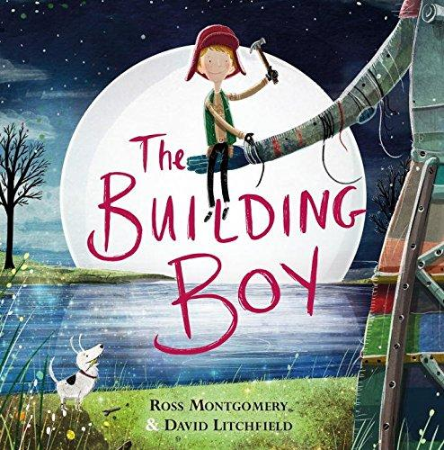 9780571314102 The Building Boy - Signed Copy, by Ross Montgomery & David Litchfield