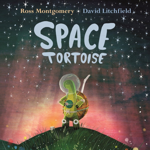 9780571331055 Space Tortoise - Signed Copy, by Ross Montgomery & David Litchfield