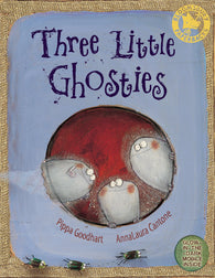 Three Little Ghosties, by Pippa Goodheart 9780747579557