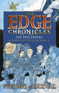 Edge Chronicles 13: The Descenders - by Paul Stewart, Signed & Illustrated by Chris Riddell