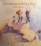 We're Going to Build a Dam - Signed Copy, by Gillian McClure 9780956510846