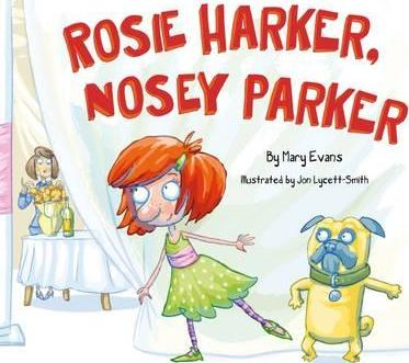 Rosie Harker, Nosy Parker - Signed Copy, by Maz Evans