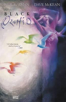 9781401240356 Black Orchid - by Neil Gaiman, Signed & Illustrated by Dave McKean