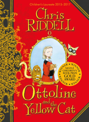 9781405050579 Ottoline and the Yellow Cat - Signed Copy, by Chris Riddell