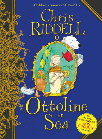 9781405050593 Ottoline at Sea - Signed Copy, by Chris Riddell