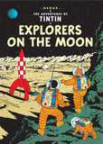 Tintin: Explorers on the Moon - by Hergé 9781405206280