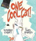 9781405230353 One Cool Cat - by Susannah Corbett, Signed & Illustrated by David Roberts