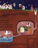 9781405267113 The Sheep Won't Sleep - Signed by Curtis Jobling