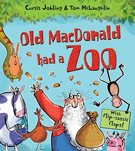 9781405267120 Old MacDonald Had a Zoo - Signed by Curtis Jobling