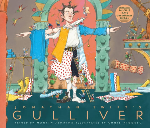 Jonathan Swift's Gulliver - Retold by Martin Jenkins, Signed & Illustrated by Chris Riddell