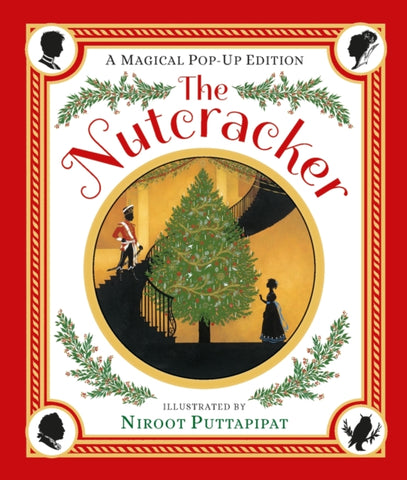 9781406367881 Mini Christmas Classic: The Nutcracker - Signed Copy, Pop-up Illustrations by Niroot Puttapipat
