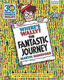 9781406376753 WBD: Where's Wally? the Fantastic Journey, by Martin Handford