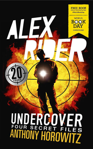WBD: Alex Rider Undercover: Four Secret Files - by Anthony Horowitz