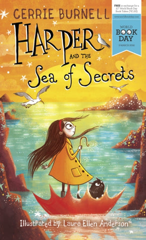 WBD: Harper & the Sea of Secrets - by Cerrie Burnell