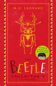 The Beetle Collector's Handbook - Signed Copy, by MG Leonard