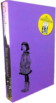 OUT OF PRINT: Slipcase Anniversary Edition of Coraline, by Neil Gaiman, Signed & Illustrated by Chris Riddell