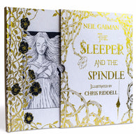 The Sleeper & the Spindle, Deluxe Edition, by Neil Gaiman, Signed & Illustrated by Chris Riddell 9781408878422