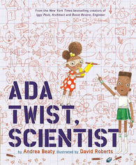 9781419721373 Ada Twist, Scientist - by Andrea Beatty & David Roberts (Illustrator)