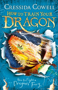 How to Train Your Dragon:  Book 12 - How To Fight A Dragon's Fury- by Cressida Cowell