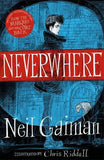 9781472234353 Neverwhere - Neil Gaiman, Signed & Illustrated by Chris Riddell
