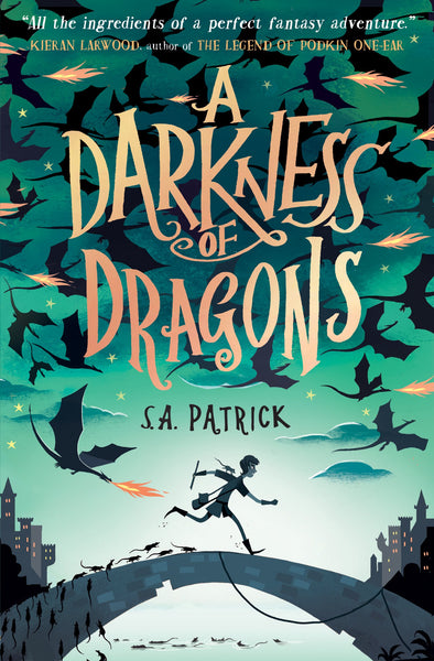 SHORTLISTED: A Darkness of Dragons - by S. A. Patrick