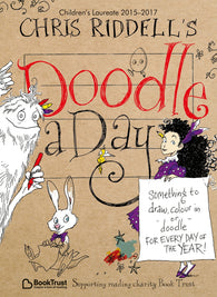 Chirs Riddell's Doodle a Day - with Signed Bookplate 9781509816439