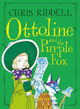 Ottoline & the Purple Fox (Paperback) - Signed & Illustrated by Chris Riddell 9781509881550