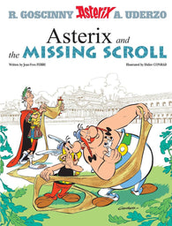 9781510100459 Asterix and the Missing Scroll - by Jean-Yves Ferri, Illustrated by Didier Conrad