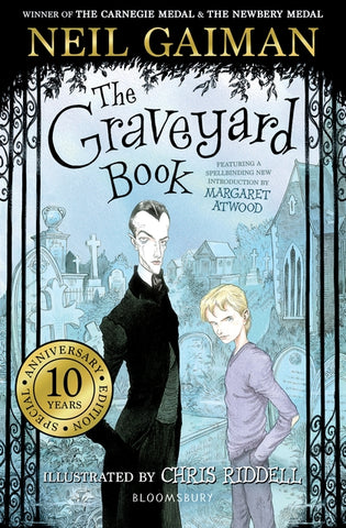 The Graveyard Book, by Neil Gaiman, Signed & Illustrated by Chris Riddell