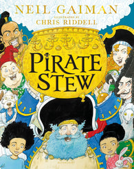 🏴‍☠️ (NEW) Pirate Stew - 1st Edition, Written by Neil Gaiman, Signed & Illustrated by Chris Riddell