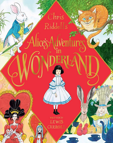 (PRE-ORDER) Chris Riddell's Alice's Adventures in Wonderland  - 1st Edition, Signed & Illustrated by Chris Riddell