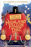 The Highland Falcon Thief - Double Signed, by MG Leonard and Sam Sedgman