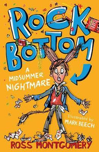 (PRE-ORDER) Rock Bottom: A Midsummer Nightmare - Signed Copy, by Ross Montgomery