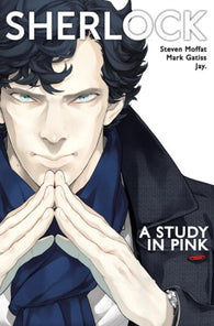 9781785856150 Sherlock: A Study in Pink (Manga Edition) - Signed by Mark Gatiss