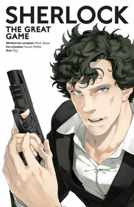 Sherlock: The Great Game (Manga Edition) - Signed Copy by Mark Gatiss & Steven Moffat 9781785859168