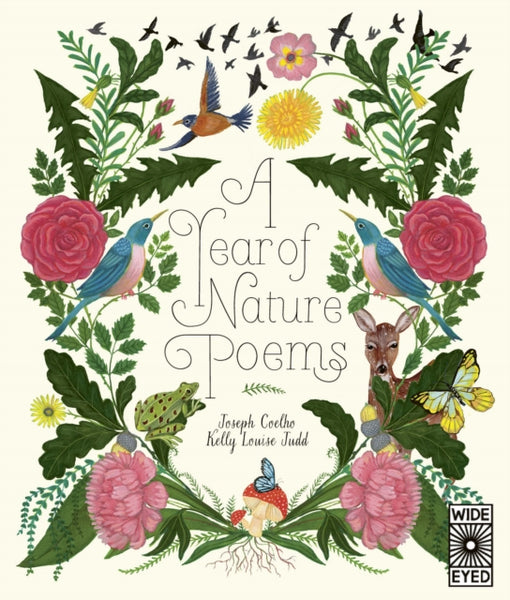 A Year of Nature Poems (Hardback) - Signed Copy, by Joseph Coelho, Illustrated by Kelly Louise Judd