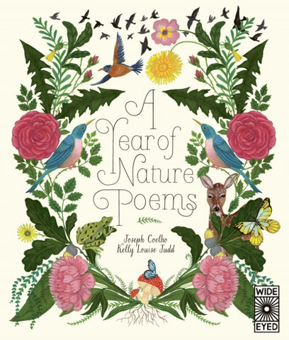 A Year of Nature Poems - Signed Copy, by Joseph Coelho, Illustrated by Kelly Louise Judd