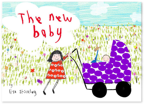The New Baby - Signed Copy, by Lisa Stickley