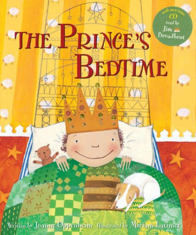 The Prince's Bedtime - with Storytime CD read by Jim Broadbent 9781846860959